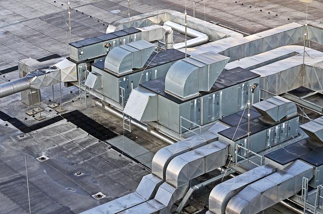 aparatos aire acondicionado industrial